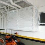 Box suspenso - Box de alumínio para garagens