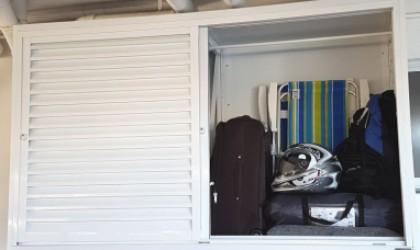 MagicDoor - Box de Alumínio para garagens - Box suspenso