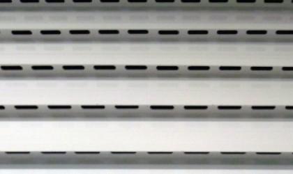 MagicDoor - Box de Alumínio para garagens - Veneziana com ventilação