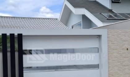MagicDoor - Moldura para portão - Moldura para portão MagicDoor