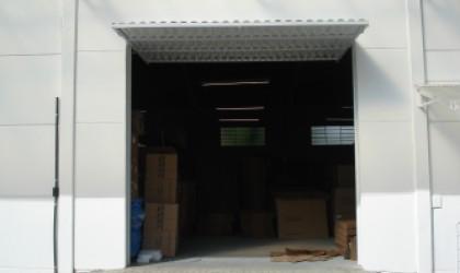 Portão Chapa Buzios - Galvanizado